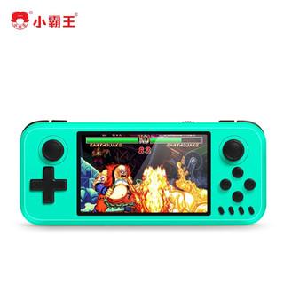 小霸王 Q400游戏机 PSP儿童迷你掌机FC经典怀旧掌上游戏机标配梦幻绿64G+支持4K高清电视+支持4人对战