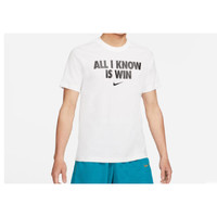 NIKE 耐克 ALL I KNOW IS WIN DD0774 男士运动短袖