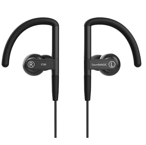SoundMAGIC 声美 ST80 入耳式颈挂式降噪蓝牙耳机 黑色