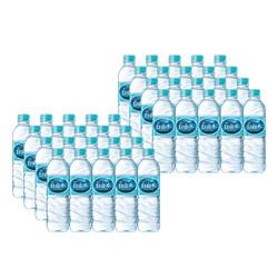 白山水 纯净矿物质水 500ML*40瓶
