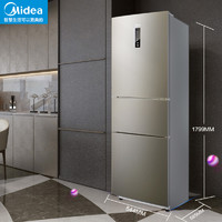 Midea 美的 BCD-215WTPM(E) 215L 三开门电冰箱