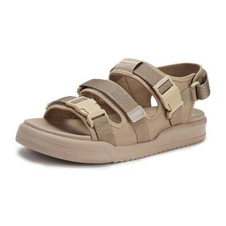 hotwind 热风 21夏新款男士简约时尚年轻运动沙滩鞋外穿休闲男凉鞋