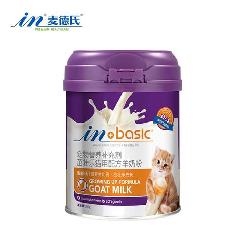in plus 麦德氏 猫咪专用羊奶粉200g