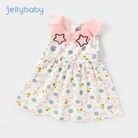 jellybaby 杰里贝比 女童印花连衣裙