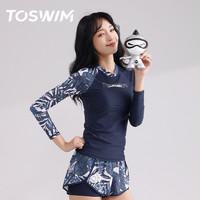 TOSWIM 拓胜 TS01122296005 女款泳衣