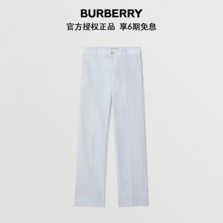 BURBERRY 博柏利 男士粉笔蓝绣章休闲剪裁牛仔裤 80052671 32