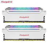 Asgard 阿斯加特 洛极系列-W3 2.0 DDR4 3600频率 台式机内存 16GB(8GBx2)