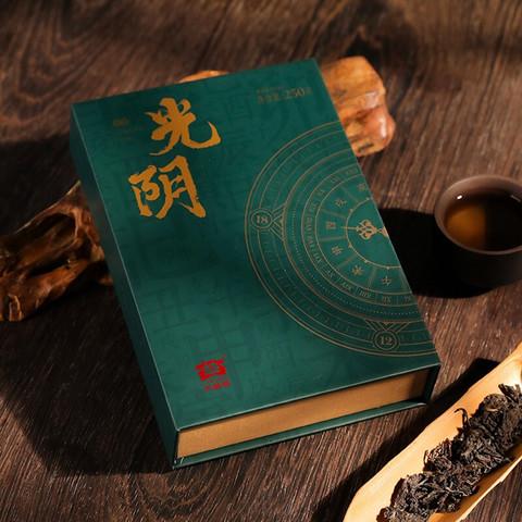TAETEA 大益 普洱茶 光阴生砖方砖生茶2021年 250g*4砖