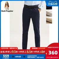 Hush Puppies 暇步士 男装2021新款男士春季商务休闲裤子 PQ-20120D