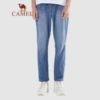 CAMEL 骆驼 T1S2NB101 男士宽松直筒牛仔长裤