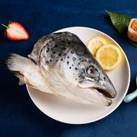 PLUS会员:Seamix 禧美海产 三文鱼头(大西洋鲑鱼)900g/袋 2个