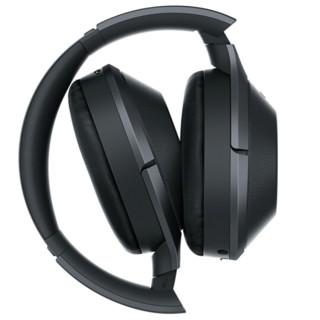 SONY 索尼 MDR-1000X 耳罩式头戴式降噪蓝牙耳机 黑色