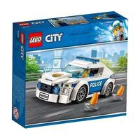 LEGO 乐高 积木60239城市系列警察巡逻车男孩儿童拼装玩具礼物