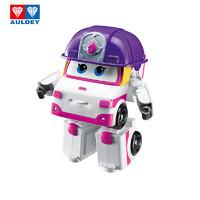 AULDEY 奥迪双钻 超级飞侠益智玩具大变形机器人-小柔 儿童玩具男女孩生日礼物 730223