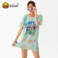B.Duck 小黄鸭 BK1903285 女士分体罩衫泳装三件套