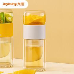 Joyoung 九阳 茶水分离双层玻璃杯 23ml
