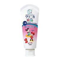 LION 狮王 齿力佳系列 儿童米奇酵素牙膏 草莓味 60g