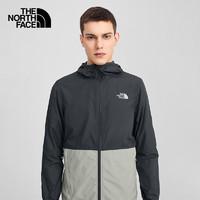 THE NORTH FACE 北面 官方防晒衣男2021夏季新款户外防泼水外套防紫外线皮肤衣4NEF