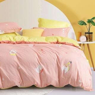 MERCURY 水星家纺 全棉抗菌印花被套150*210学生宿舍单件被褥套床上用品