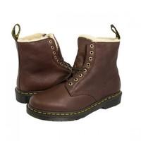 Dr.Martens 马丁大夫 1460 PASCAL 短绒毛内里马丁靴