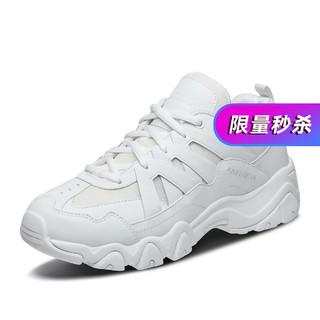SKECHERS 斯凯奇 D'LITES系列时尚绑带运动鞋
