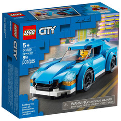 LEGO 乐高 城市系列 60285 蓝色跑车