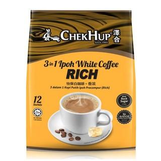 ChekHup 泽合 三合一速溶白咖啡  480g