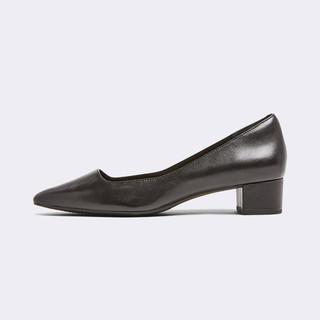 ROCKPORT 乐步 女士尖头高跟商务职业通勤百搭舒适方跟高跟鞋