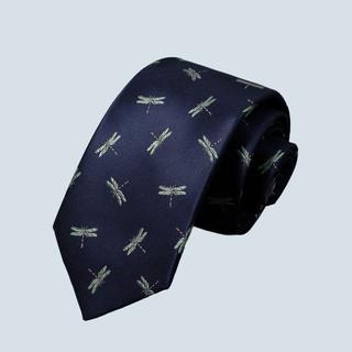 ROMON 罗蒙 领带男士正装商务休闲韩版窄款手打款质感职业通勤领带