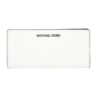MICHAEL KORS 迈克·科尔斯 MK 女士JET SET两折拉链手拿长款钱包