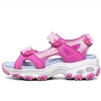 SKECHERS 斯凯奇 女童熊猫老爹凉鞋