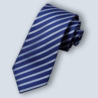 ROMON 罗蒙 领带正装商务休闲韩版窄款手打款质感职业格纹通勤领带