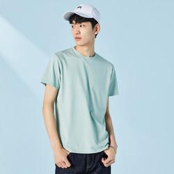 PEACEBIRD 太平鸟 男装2021春季新品短袖打底衫纯色情侣男式T恤