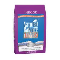 临期品:Natural Balance 天衡宝 室内特级 鸡肉三文鱼猫粮 15磅