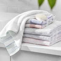 MINISO 名创优品 毛巾 34x72cm 蓝色