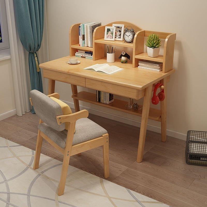 SENAZUOJU 塞纳左居 北欧全实木书桌电脑桌 0.8m