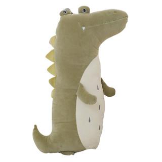 移动端 : 蓝白玩偶 鳄鱼公仔毛绒玩具 80cm 多款式可选