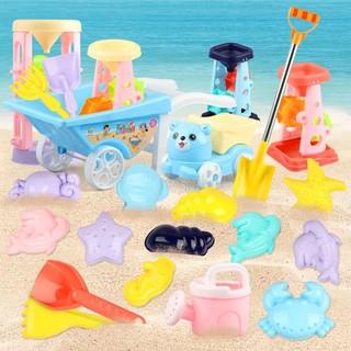 abay 儿童沙滩玩具套装沙漏铲子沙桶玩具