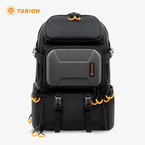 TARION 德国相机包大容量单反双肩背包专业摄影包多功能单反包PBL 专业相机包 黑