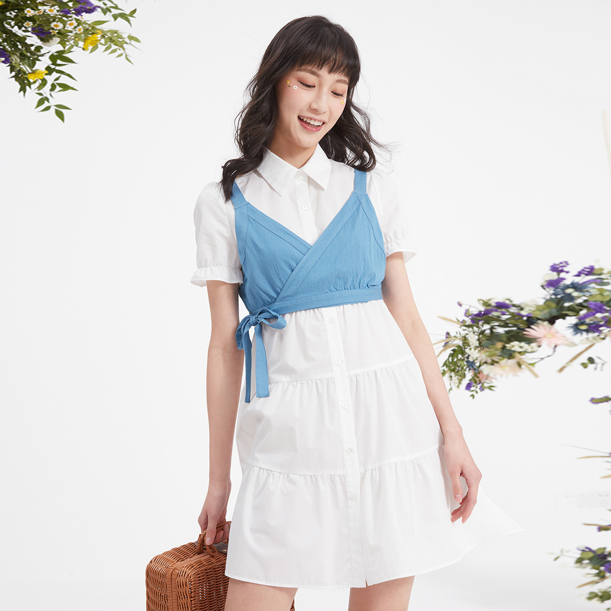 hotwind 热风 F019W1632104 女士连衣裙