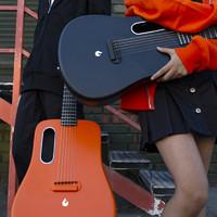 拿火吉他LAVA ME 2碳纤维民谣吉他初学者入门学生36寸