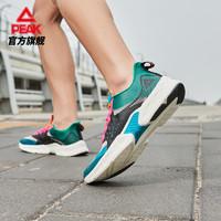 PEAK 匹克 E02157H 男女款超轻跑鞋+态极拖鞋