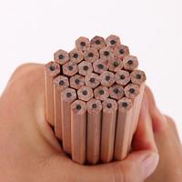 有券的上:deli 得力 木世界系列 三角/六角书写原木铅笔 2B/HB 30支装