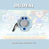 杜德斯 数码宝贝暴龙机 AirPods保护套