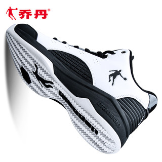 QIAODAN 乔丹 篮球鞋男夏男鞋2021夏季正品耐磨低帮球鞋透气运动鞋减震战靴
