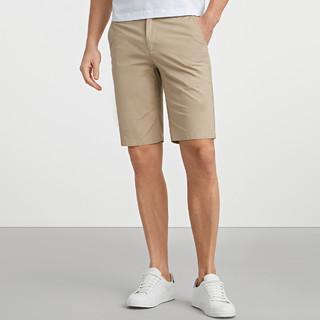 SEPTWOLVES 七匹狼 2021夏季新款简约舒适五分裤男士休闲裤短裤男裤子