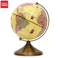 TANGO 天章 8125 古铜支架黄色地球仪 φ20cm