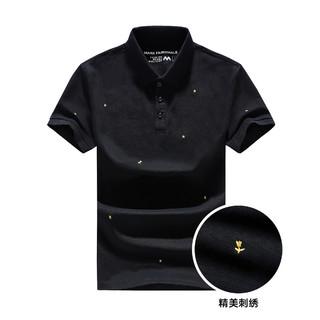 MARK FAIRWHALE 马克华菲 男装夏季新款时尚套头男式短袖Polo衫潮流简约休闲