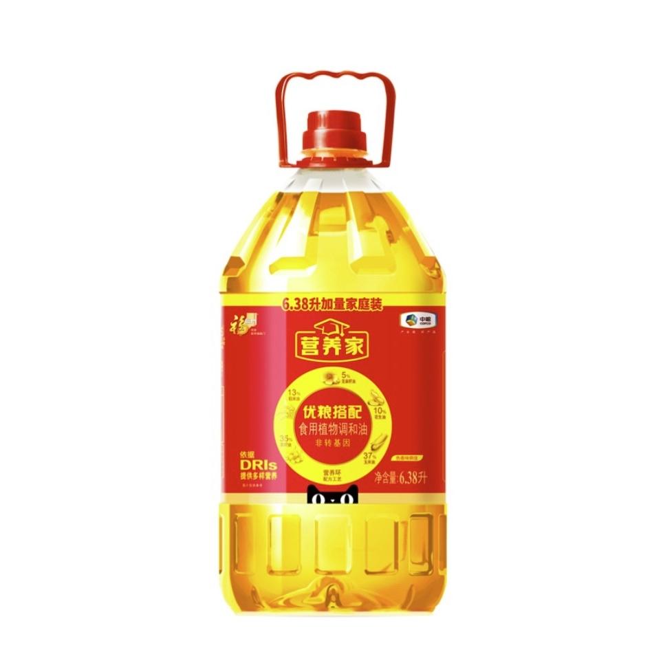 福临门 家食用植物调和油 6.38L/桶