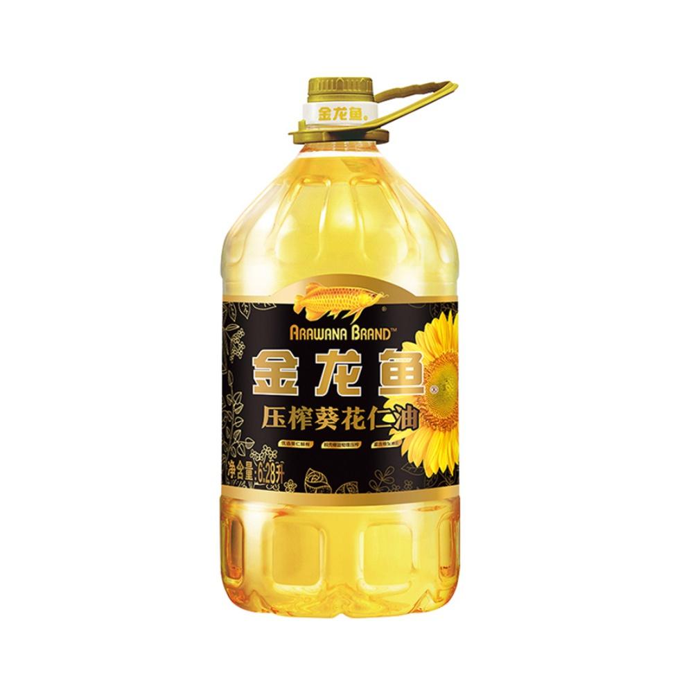 88VIP : 金龙鱼 压榨葵花仁油  6.28L